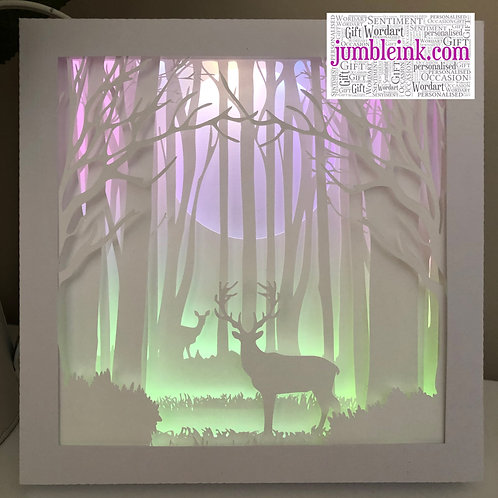Deer in the Woods: €45 - €50