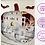 Thumbnail: €5.50 - Haunted Mansion Pumpkin - 3D Paper Cut Template Light Box SVG