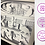 Thumbnail: €5.50 - Star Wars Prequel Trilogy  - 3D Paper Cut Template Light Box SV