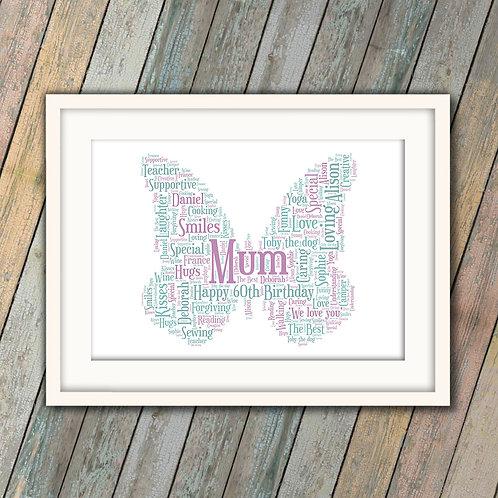 Butterfly: €25 - €55