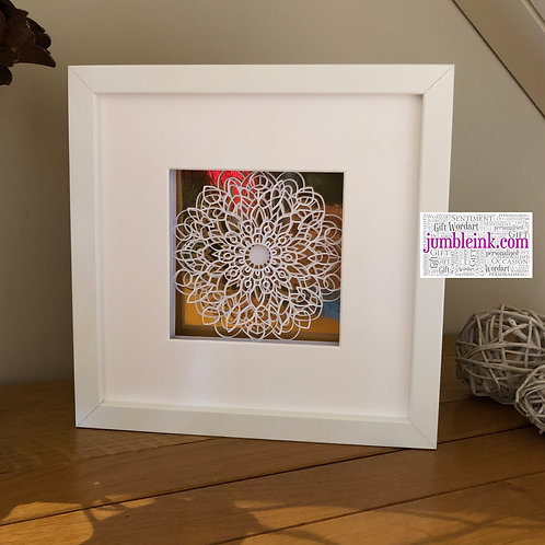 €5.50 - Mandala - 3D Paper Cut Template Light Box SVG