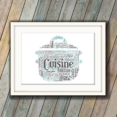 I Do Love To Cook Wall Art Print: €10 - €55
