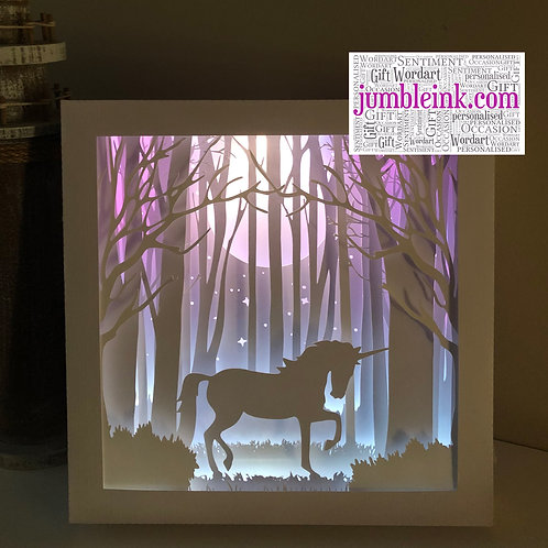 Unicorn in the Woods: €45 - €50