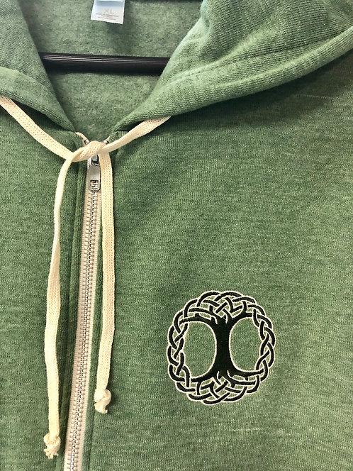 Unisex Eco-Fleece Zip Hoodie