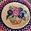 Thumbnail: Flower basket hooked center/hand braided rug