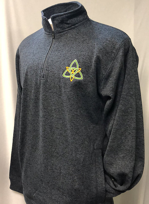 Cosmic Poly Fleece Quarter-Zip