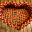 Thumbnail: Heart Braided Basket atop a Wooden Heart Stand