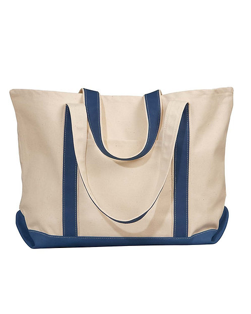 8872 UltraClub by Liberty Bags Carmel Canvas Tote