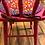 Thumbnail: Toddler chair with hand-braided wool chair pad