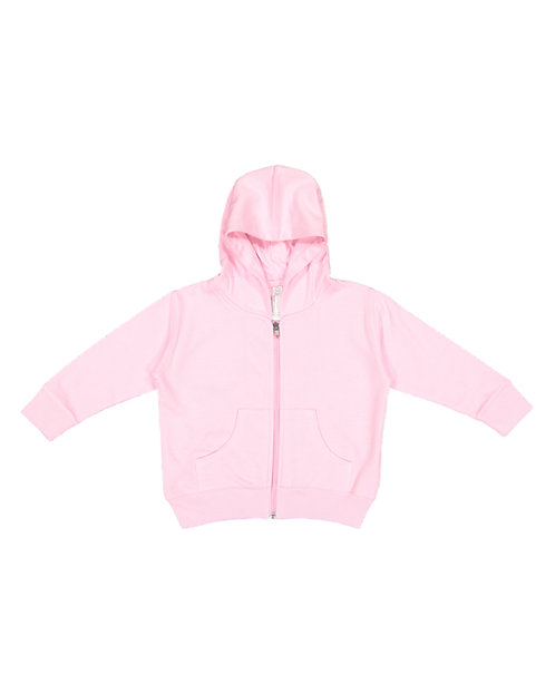3346 Rabbit Skins Drop Ship Toddler Zip Fleece Hoodie