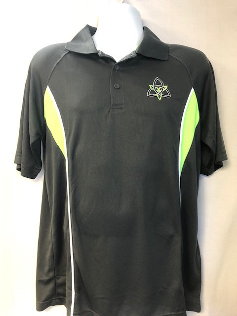 Augusta Adult Wicking Polyester Mesh Sport Shirt with Contrast Inserts
