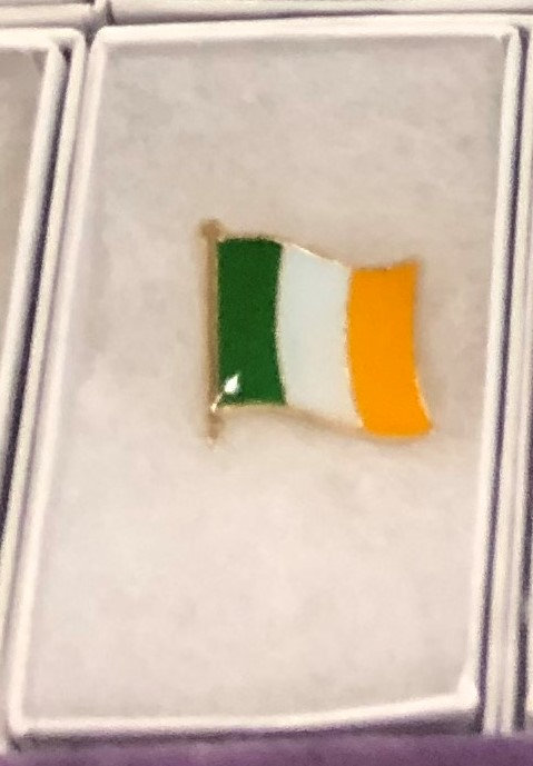 Symbols of Ireland Enamel Pins w/ Gift Box
