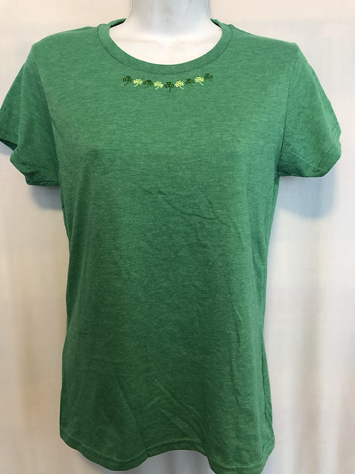 Perfect Green Heathered Tee