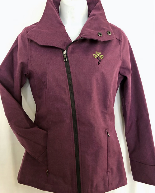 Soft Shell Jacket with Convertible Collar