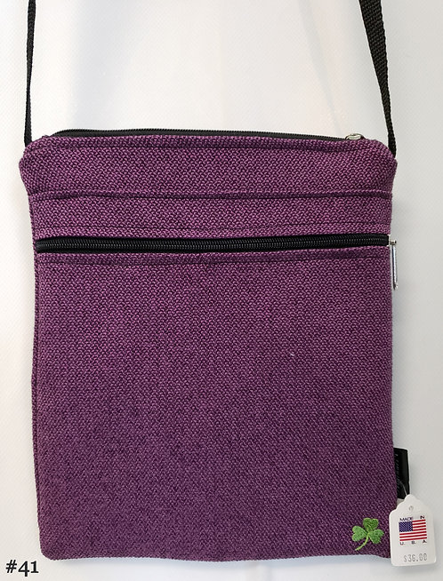 USA-made Cross-body adjustable strap hand bag (Group 3: Bags #28-41)