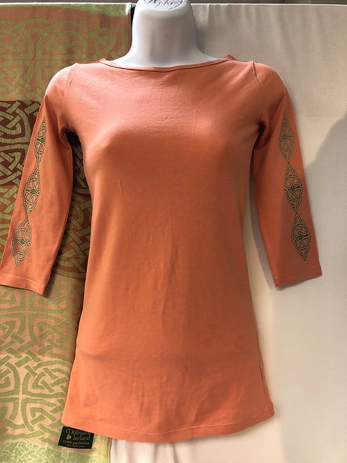 Terracotta Ladies' Stretch 3/4 Sleeve T-Shirt