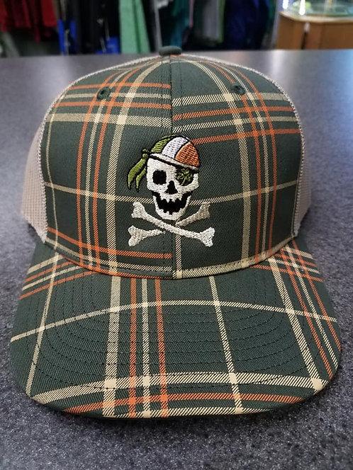 Plaid Pirate Baseball Cap