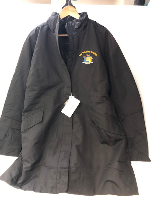 North End Ladies' Insulated Black Car Jacket