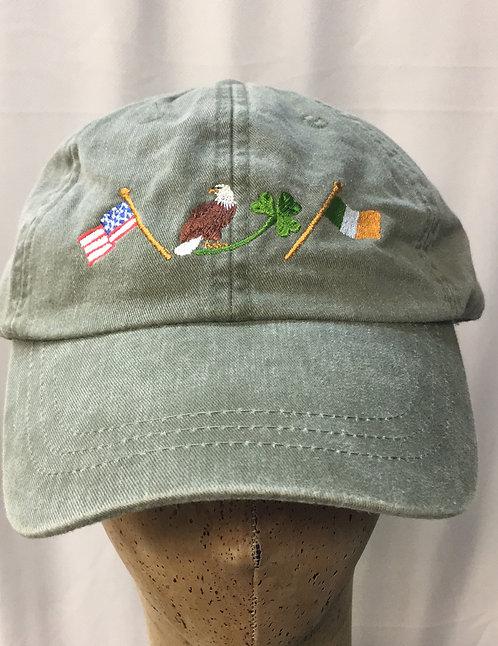 Pigment-Dyed Sandwich Cap