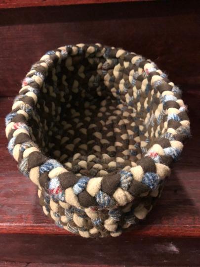 Oval Braided Basket