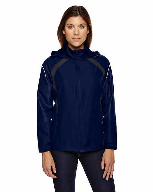 78168 Ash City - North End Ladies' Sirius Lightweight Jacket with Embossed Print