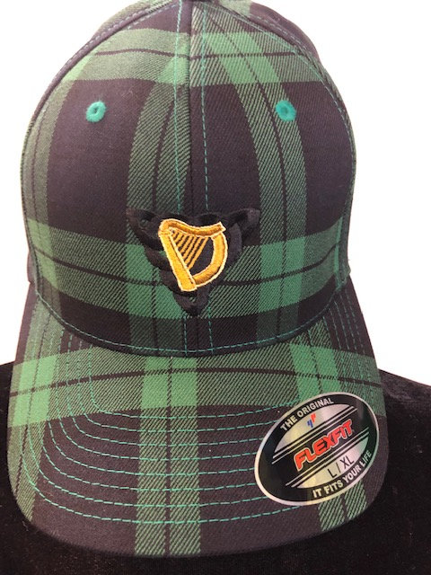 Black Watch FlexFit Plaid Cap