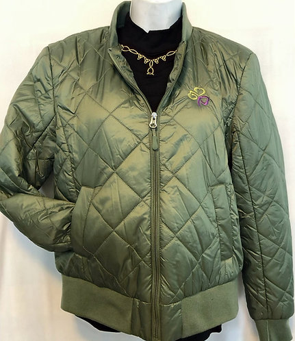 Women's Quilted Packable Bomber Jacket