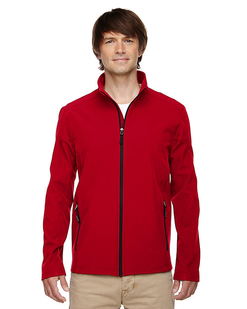 88184T Ash City - Core 365 Men's Tall Cruise Two-Layer Fleece Bonded Soft Shell