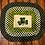Thumbnail: Shamrock Braided Lattice-Pattern Rug