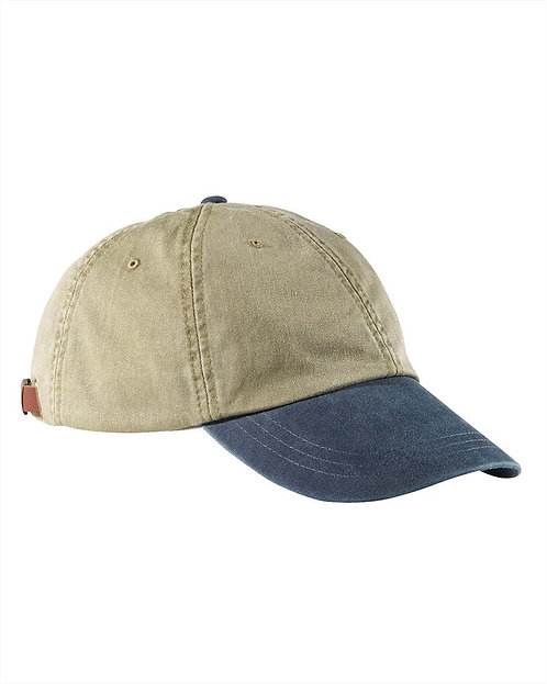 AD969 w/Name on Back. Adams Optimum Pigment-Dyed Cap