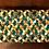 Thumbnail: Green Wicker Shelf with hand-braided rug shelf liners
