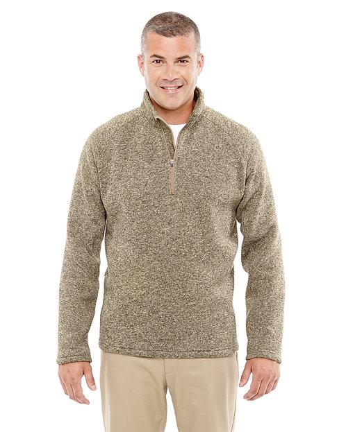 DG792 Devon & Jones Adult Bristol Sweater Fleece Quarter-Zip