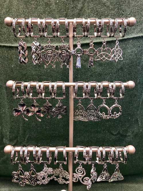 36 pieces with FREE Scarf Charm Counter Display