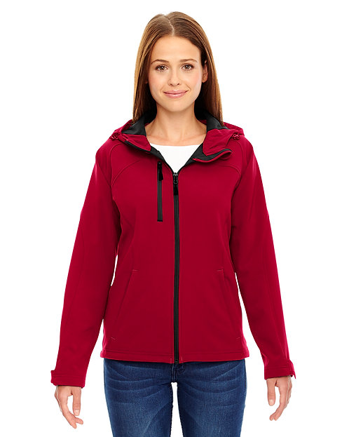 78166 Ash City - North End Ladies' Prospect Two-Layer Fleece Bonded Soft Shell H