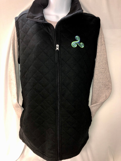 Quilted Vest with Triskele