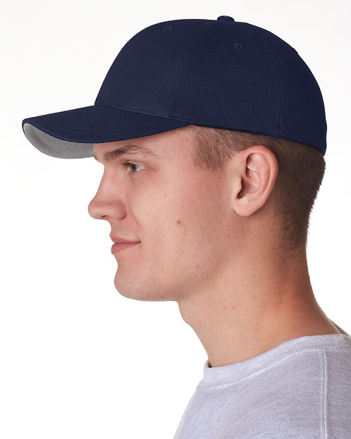 8151 UltraClub Cool & Dry Navy Flexfit Cap