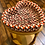 Thumbnail: Heart-shaped light hardwood table with Hand-braided Wool Basket