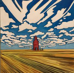 Prairie Giant by Kathryn Gorectke 20_x20