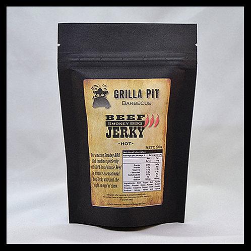 Smokey BBQ Beef Jerky Hot