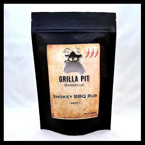 Smokey BBQ Dry Rub Hot