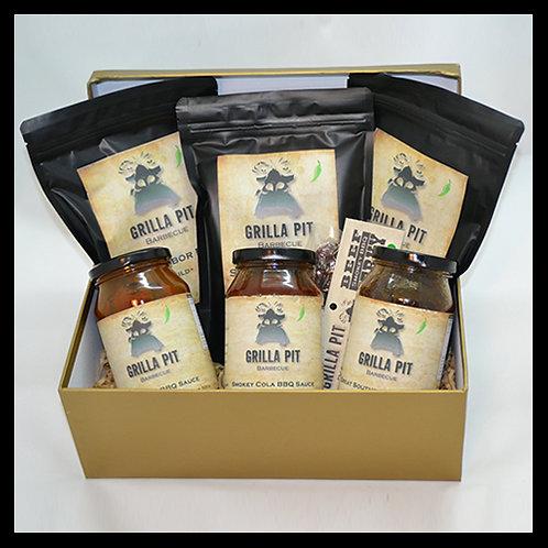 Grilla Pit Barbecue Gift Box