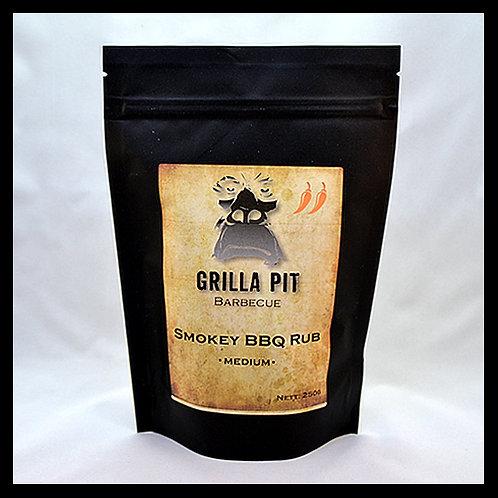 Smokey BBQ Dry Rub Medium