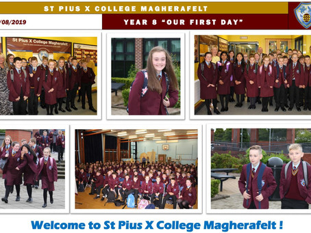 St Pius X College Warmly Welcomes Year 8 Pupils