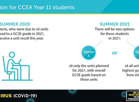 Information for CCEA Year 11 Students