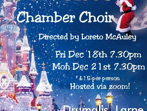 Christmas Concerts at Drumalis 2020 via Zoom