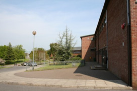 Front of school from priest res.JPG