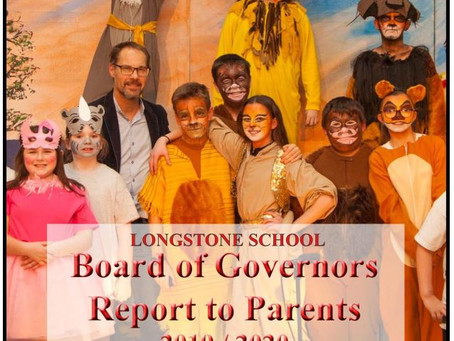 Board of Governors Report 2019-2020