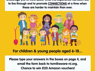 AWARE - Connections Challenge for young people aged 6-18