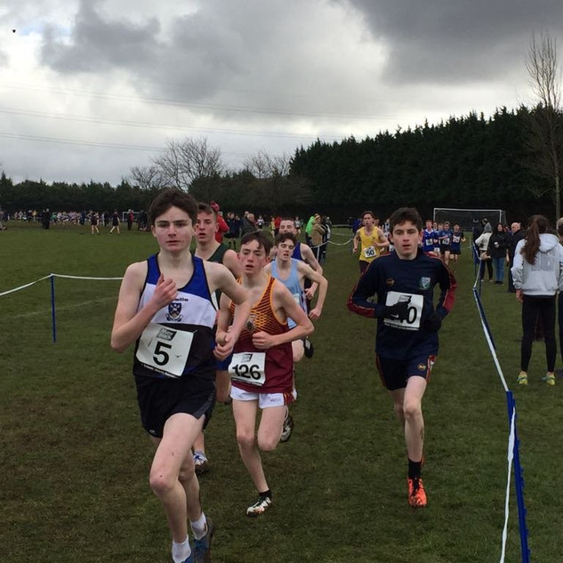 1.Congratulations to our Oakgrove College athletes competing in the Ulster Secondary Schools Cross Country Finals at Mallusk today. Sean-Paul Cullen finished an impressive 17th and Sam Cole, the youngest competitor in his race, finished 28th. Well done to both.