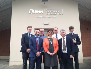 Centre of Excellence continues to deliver for St. Michael's College and Quinn through Partnership